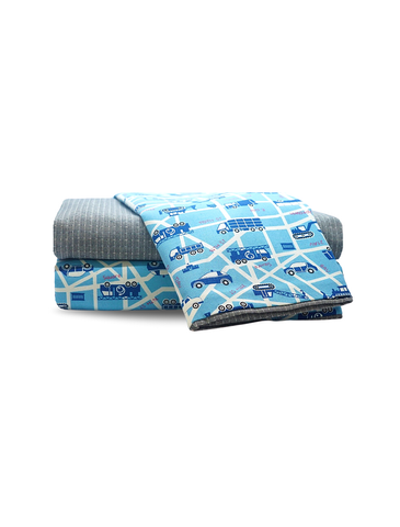Dream Castle Busy Bee Town Dog Bed Cover | Perromart Online Pet Store Singapore