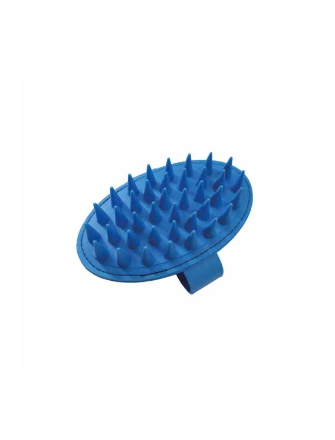 Artero Rubber Palm Brush Extra Long Blue | Perromart Online Pet Store Singapore