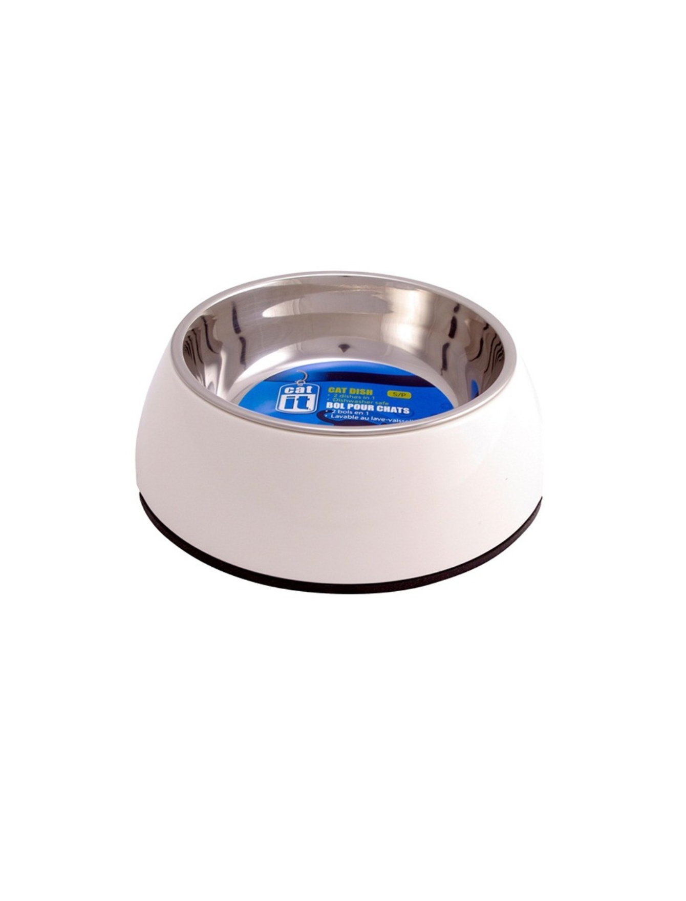 Catit 2 In 1 Durable Bowl Small 350ml (2 Colors) | Perromart Online Pet Store Singapore