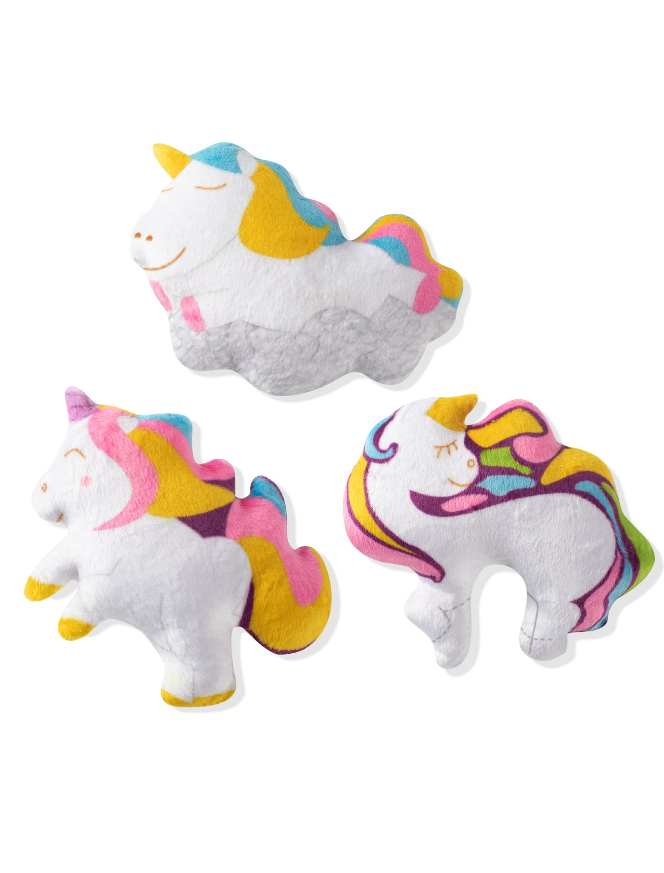 Fringe Studio Mini Unicorn, Dog Squeaky Plush Toy | Perromart Online Pet Store Singapore
