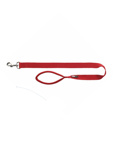 Trixie Premium Leash for Dogs - Burgundy (3 Sizes) | Perromart Online Pet Store Singapore