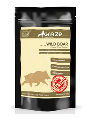 Graze Wild Boar Freeze Dried Topper For Dogs 100g