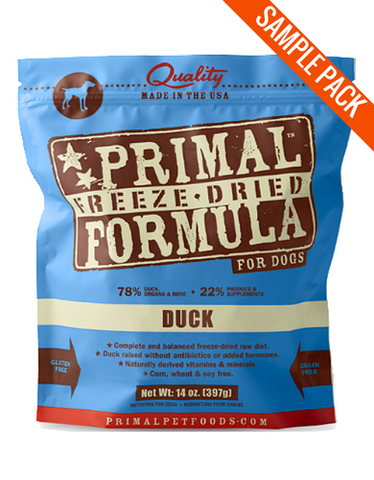 Primal Freeze Dried Canine Duck Nuggets Sample - Perromart