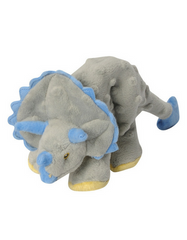 goDog Dino Frills The Triceratops Plush Toy | Perromart Online Pet Store Singapore