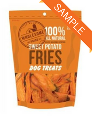 Wholesome Pride Sweet Potato Fries Dog Treat Sample