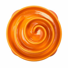 Outward Hound Fun Feeder Bowl Orange (Mini)
