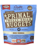 Primal Freeze-Dried Canine Duck Nuggets 14oz