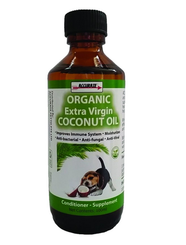 Accurate Organic Extra Virgin Coconut Oil 2 Sizes | Perromart Online Pet Store Singapore