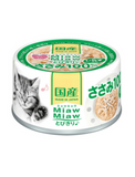 Aixia Miaw Miaw Chicken Fillet Whitebait Canned Cat Food 60g | Perromart Online Pet Store Singapore