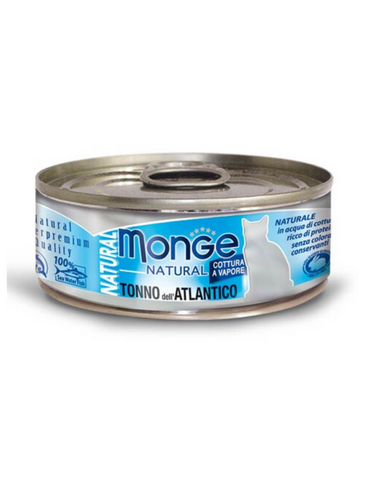 Monge Natural Atlantic Tuna Cat Food 80g | Perromart Online Pet Store Singapore