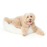 Paw Made Ultra Fluff Furry Bed in Powder (3 Sizes) | Perromart Online Pet Store Singapore