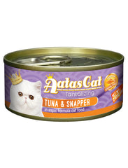 Aatas Cat Tantalizing Tuna & Snapper in Aspic Cat Wet Food | Perromart Online Pet Store Singapore