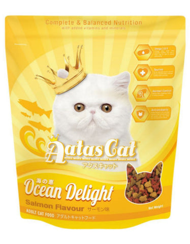 Aatas Cat Ocean Delight Salmon | Perromart Online Pet Store Singapore