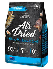 Absolute Holistic Air Dried Blue Mackerel & Lamb Dog Food ( 1kg )  | Perromart Online Pet Store Singapore