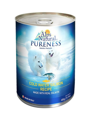 Alps Natural Classic Salmon Dog Wet Food 400g | Perromart Online Pet Store Singapore