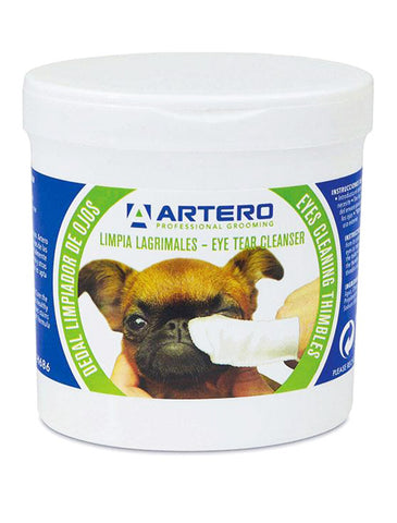 Artero Disposable Eye Finger Wipes for Dogs and Cats 50 units | Perromart Online Pet Store Singapore