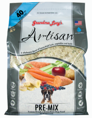 Grandma Lucys Artisan Pre-Mix Freeze Dried Food 8lbs