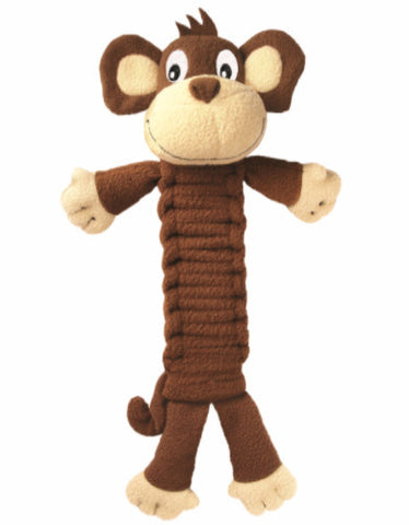 Bendeez Monkey Dog Toy (S & L) - Perromart