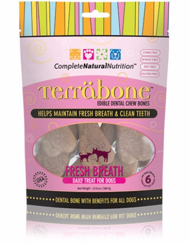 Complete Natural Nutrition Terrabone Fresh Breath for Dog | Perromart Singapore
