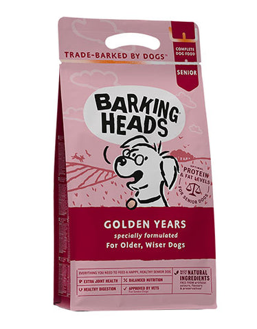 Barking Heads Golden Years Dog Dry Food | Perromart Online Pet Store Singapore