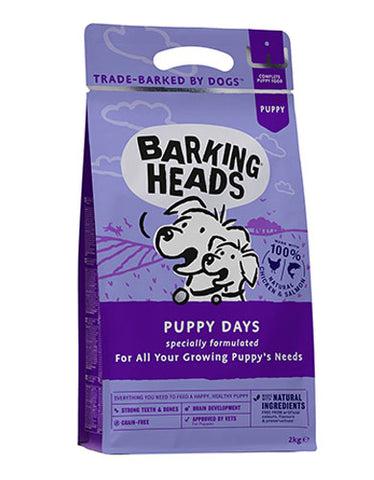 Barking Heads Puppy Days Dog Dry Food | Perromart Online Pet Store Singapore