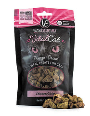 Vital Essentials Freeze Dried Chicken Giblets Cat Treat | Perromart Online Pet Store Singapore