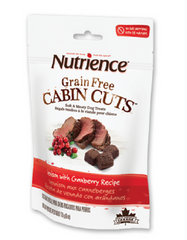 [SALE] [PRICES REDUCED] Nutrience Grain-Free Cabin Cuts Venison with Cranberry Dog Treats 170g