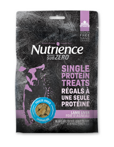 Nutrience Subzero Freeze Dried Dog Treats (Lamb Liver) 90g