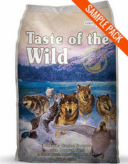 Taste of the Wild Wetlands Fowl Dry Food Sample - Perromart