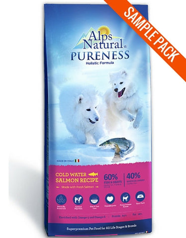 Alps Natural Pureness Cold Water Salmon Sample - Perromart