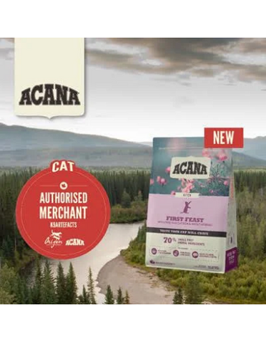 ACANA Classics First Feast Dry Food for Kittens (2 Sizes)