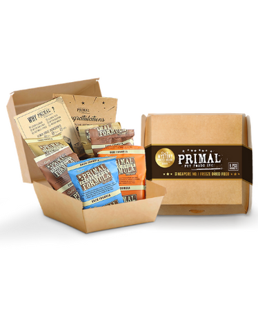 Primal Freeze Dried Canine Nuggets Starter Kit