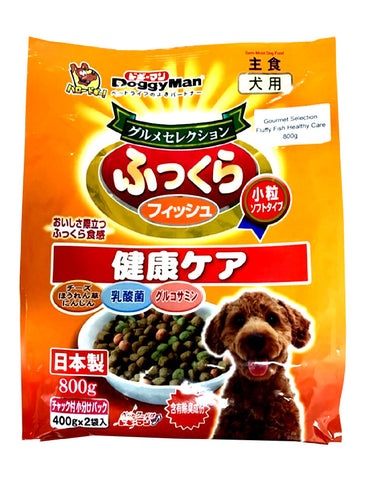 DoggyMan Gourmet Selection Fluffy Fish Healthy Care Dog Treats (2 Sizes) | Perromart Online Pet Store Singapore