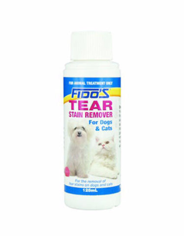 Fido's Tear Stain Remover for Dogs & Cats 125gm/bot | Perromart Online Pet Store Singapore