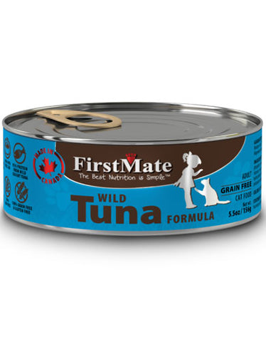 FirstMate Grain & Gluten Free, Wild Tuna Canned Cat Wet Food | Perromart Online Pet Store Singapore