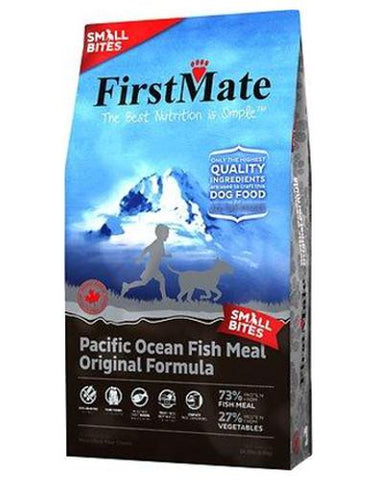 [CLEARANCE] FirstMate Small Bites Pacific Ocean Fish Formula Grain & Gluten Free Dry Dog Food - Original 2.3kg