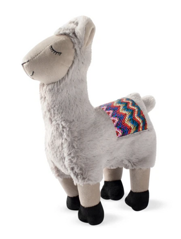Fringe Studio Chill Llama, Dog Squeaky Plush Toy | Perromart Online Pet Store Singapore