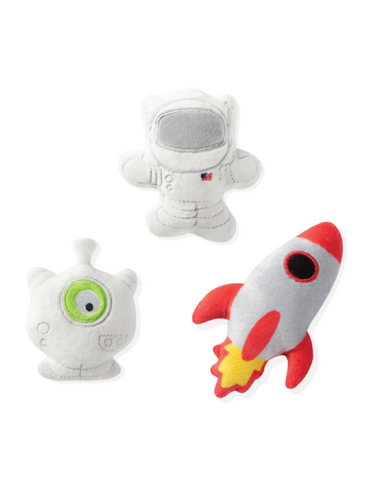 Fringe Studio Mini Outer Space, Dog Squeaky Plush Toy | Perromart Online Pet Store Singapore