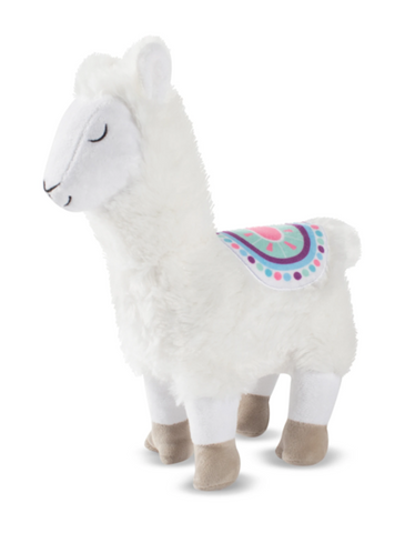 Fringe Studio No Drama Llama, Dog Squeaky Plush Toy | Perromart Online Pet Store Singapore
