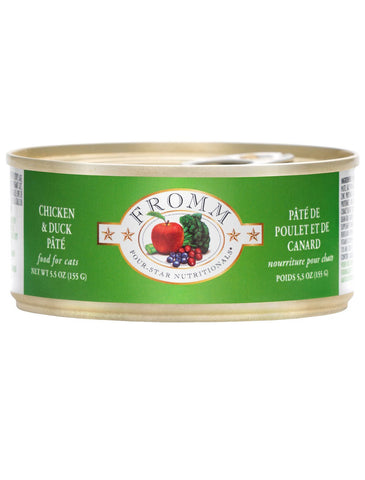 Fromm Duck & Chicken Pate Canned Cat Food | Perromart Online Pet Store Singapore