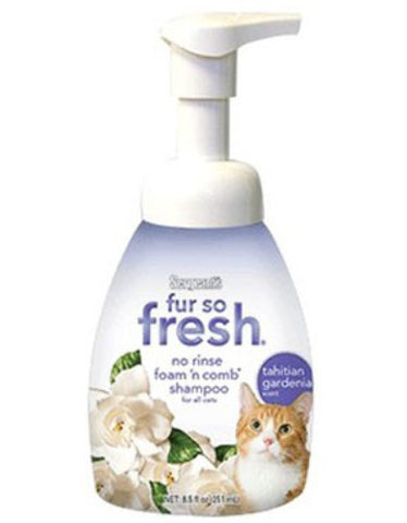 Fur-So-Fresh® No Rinse Foam 'N Comb Cat Shampoo 8.5oz | Perromart Online Pet Store Singapore