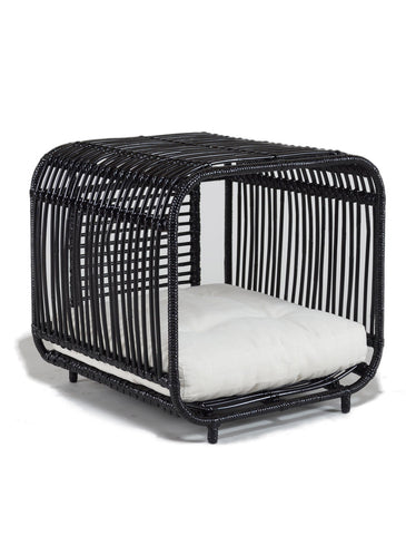 Furnish Broche Designer Dog Bed Black | Perromart Online Pet Store Singapore