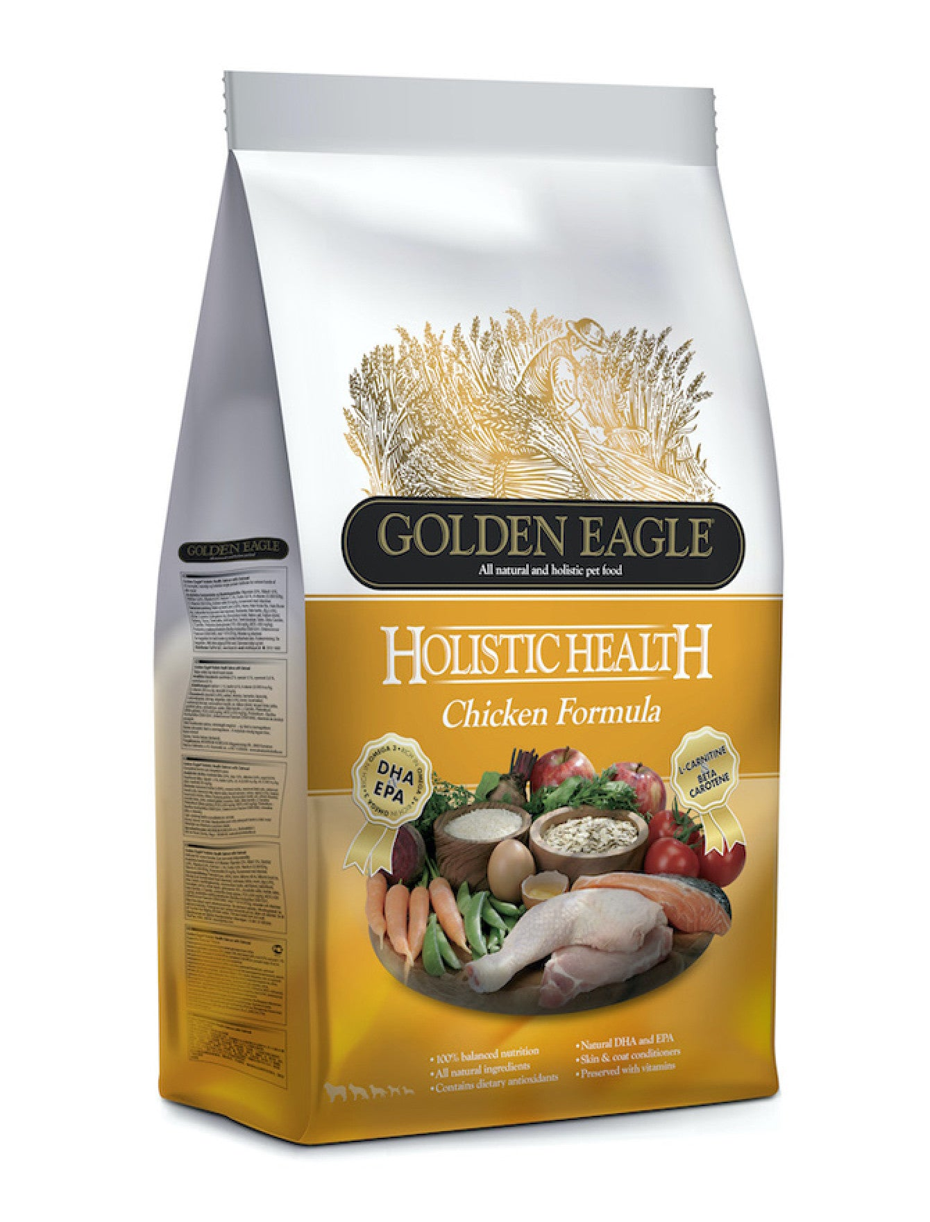 Golden Eagle Holistic Chicken Formula Dog Dry Food (2 Sizes) | Perromart Online Pet Store Singapore