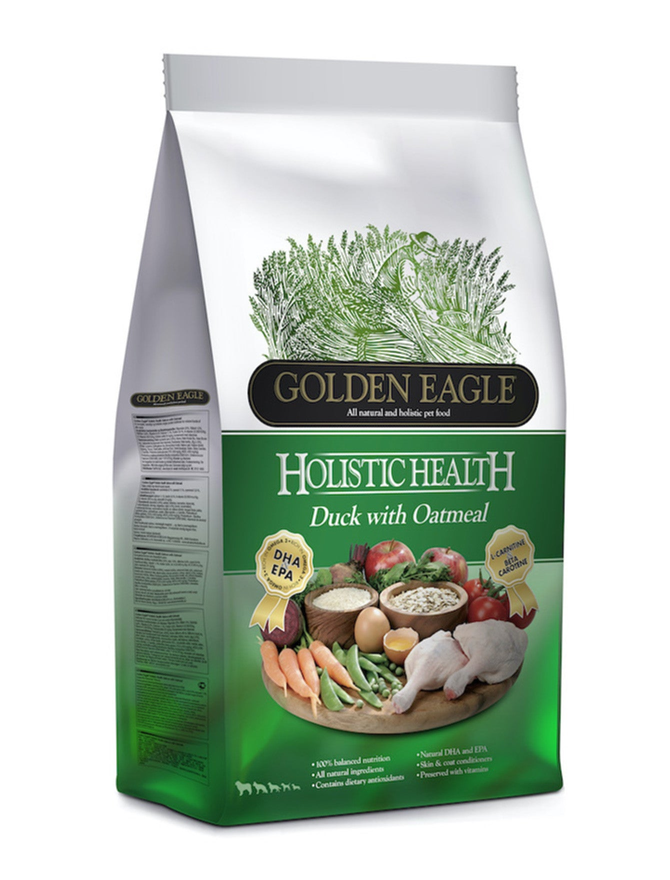 Golden Eagle Holistic Duck Formula Dog Dry Food (2 Sizes) | Perromart Online Pet Store Singapore