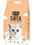 Kit Cat Soya Clump Cat Litter 7L (Peach) | Perromart Online Pet Store Singapore