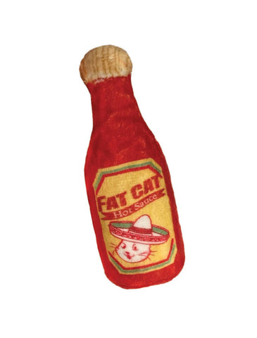 Huxley and Kent Kittybelles Fat Cat Hot Sauce Cat Toy | Perromart Online Pet Store Singapore
