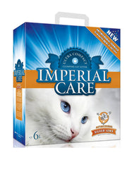 Imperial Care Premium Clumping Cat Litter Silver Ions ( 6L ) | Perromart Online Pet Store Singapore