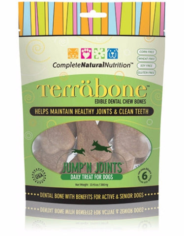 Complete Natural Nutrition Jump'n Joints Dental Chew Bones | Perromart Singapore