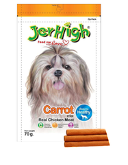 JerHigh Carrot Stick 70g | Perromart Online Pet Store Singapore