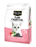 Kit Cat Zeolite Charcoal Floral Breeze 4kg | Perromart Online Pet Store Singapore